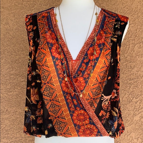 Free People Tops - Free People floral blouse